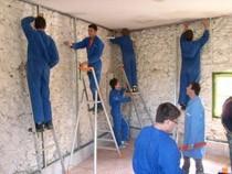 ремонт стен помещений Осинники