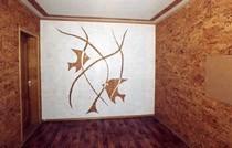 ремонт стен в Осинниках